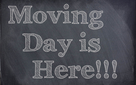 Your moving day is here. Learn how to work with your movers.