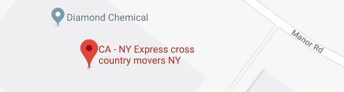 CA - NY Express Long Distance Movers New York